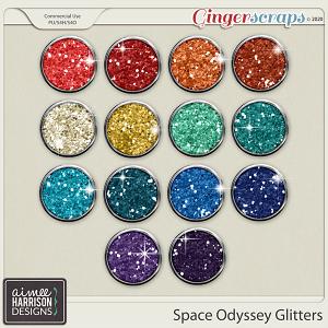 Space Odyssey Glitters by Aimee Harrison