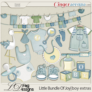 Little Bundle Of Joy: Boy Extras by LDragDesigns