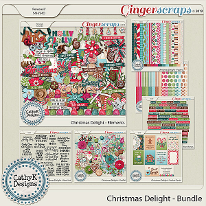 Christmas Delight - Bundle by CathyK Designs
