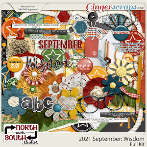 2021 September: Wisdom Full Kit by North Meets South Studios