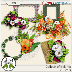 Colleen of Ireland Clusters by ADB Designs