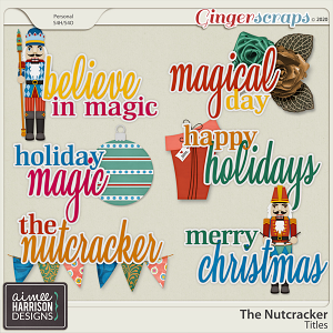 The Nutcracker Titles by Aimee Harrison