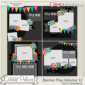 Banner Play Volume 12 - 12x12 Temps (CU Ok) by Connie Prince