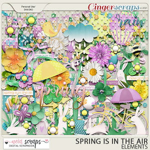 Spring is in the Air - Elements - by Neia Scraps