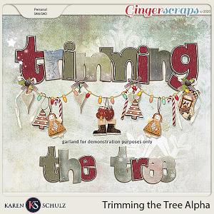 Trimming the Tree Alpha by Karen Schulz