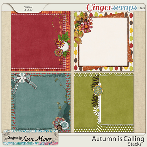 Autumn is Calling Stacks from Designs by Lisa Minor