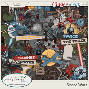 Space Wars Page Kit