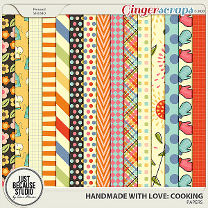 Homemade With Love: Cooking Papers by JB Studio
