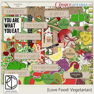 Love Food: Vegetarian