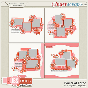 Power of Three Templates by JB Studio