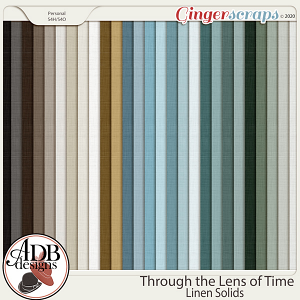 Through The Lens of Time Solid Papers by ADB Designs