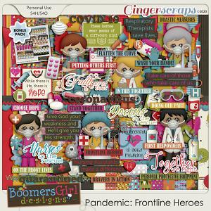 Pandemic: Frontline Heroes by BoomersGirl Designs