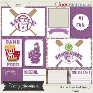 Home Run- Second Season Purple Cards