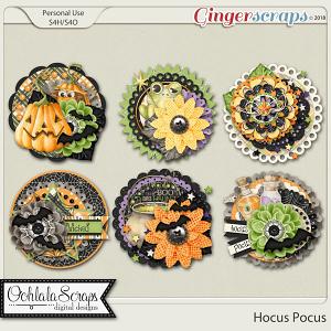 Hocus Pocus Cluster Seals