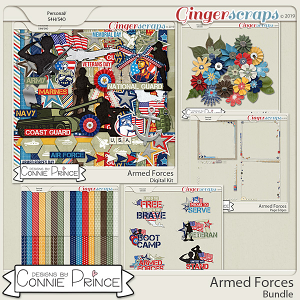 Armed Forces - Bundle by Connie Prince