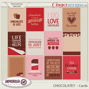 CHOCOLATEY - Cards by Aprilisa Designs