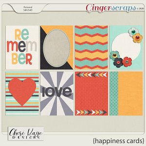 Happiness Cards by Chere Kaye Designs