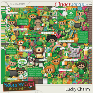 Lucky Charm by BoomersGirl Designs