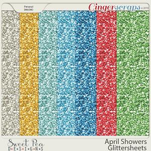 April Showers Glittersheets