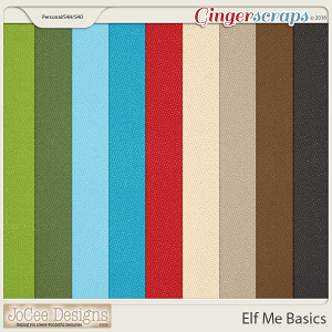 Elf Me Basic Papers by JoCee Designs