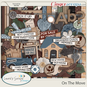 On The Move Page Kit