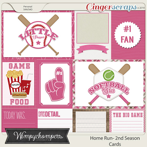 Home Run- Second Season Pink Cards