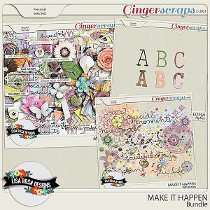 Make it Happen - Bundle by Lisa Rosa Designs