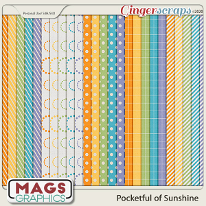 Pocketful of Sunshine EXTRA PAPERS by MagsGraphics