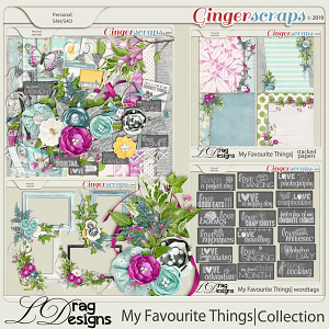 My Favourite Things: The Collection  by LDragDesigns