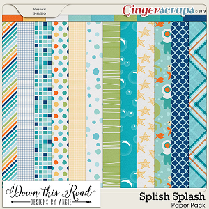 Splish Splash Paper Pack