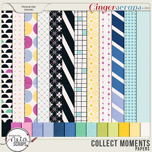 Collect Moments - Papers - by Neia Scraps