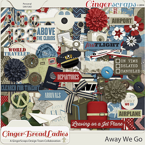GingerBread Ladies Collab: Away We Go