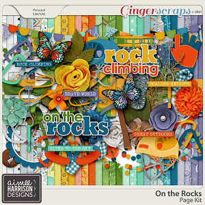 On the Rocks Page Kit by Aimee Harrison