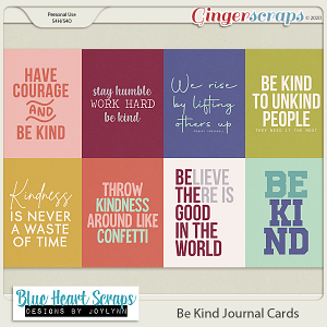 Be Kind Journal Card Pack