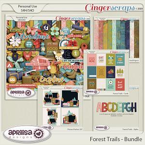 Forest Trails - Bundle by Aprilisa Designs