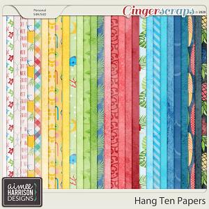 Hang Ten Paper Pack by Aimee Harrison
