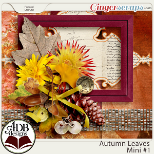 Autumn Leaves Mini Kit 1 by ADB Designs