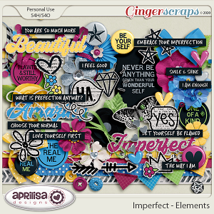 Imperfect - Elements by Aprilisa Designs