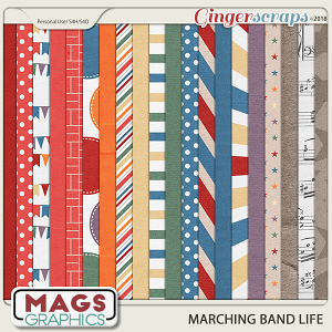 Marching Band Life PAPER PACK by MagsGraphics