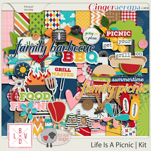 Life Is A Picnic by Luv Ewe Designs and La Belle Vie Designs
