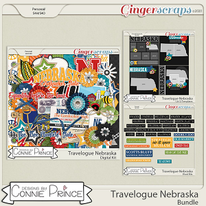 Travelogue Nebraska - Bundle Pack by Connie Prince