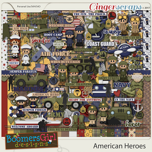 American Heroes by BoomersGirl Designs