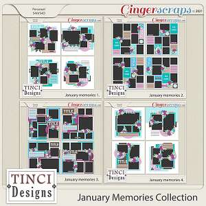 January Memories Collection