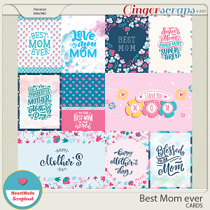 Best Mom ever - cards