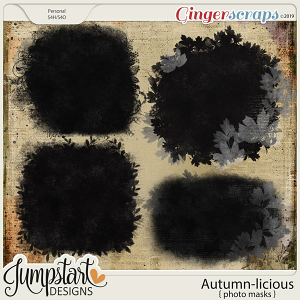 Autumn-licious {Photo Masks} by Jumpstart Designs