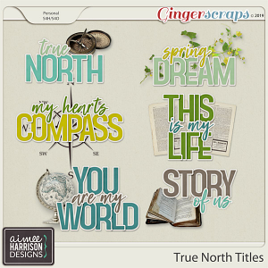 True North Titles by Aimee Harrison