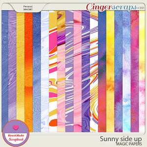 Sunny side up - magic papers