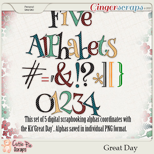 Great Day-Alphabets