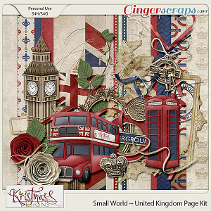 Small World ~ UK Mini Kit