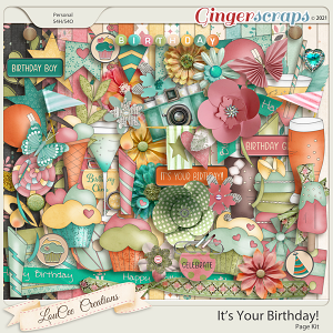 It's Your Birthday Page Kit
